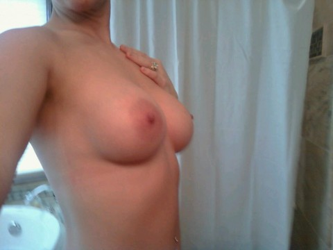 my wifes new tits