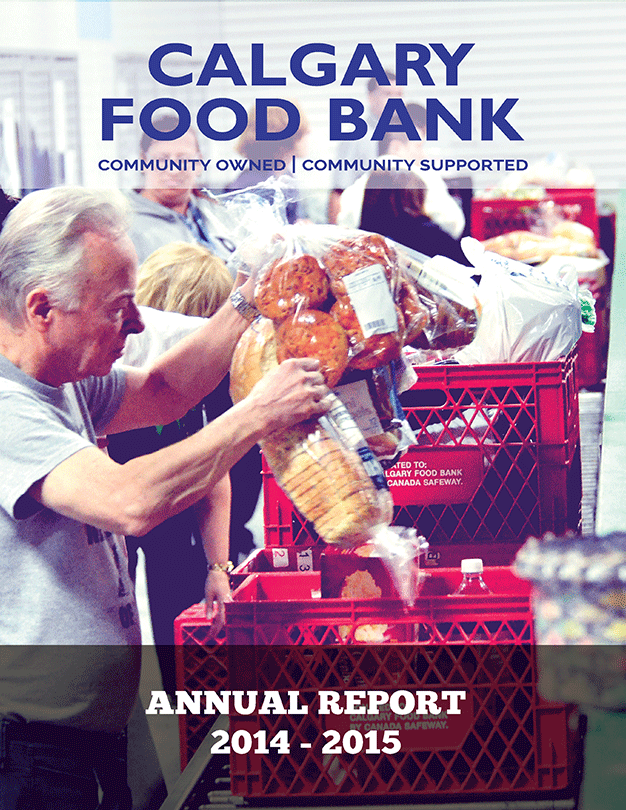 Calgary Food Bank Annual Report 2014-2015