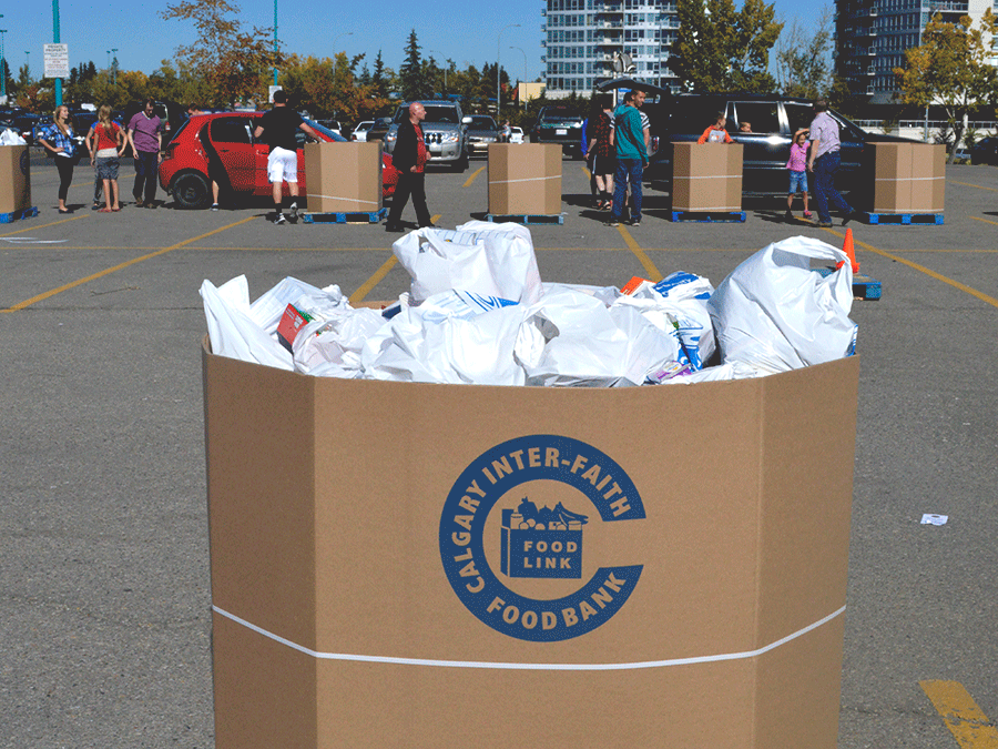 City Wide Food Drive 2014