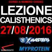 LEZIONE CALISTHENICS