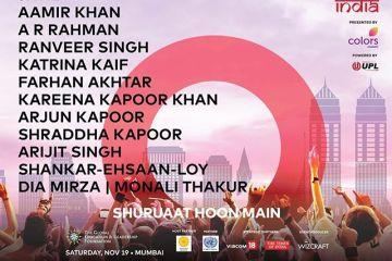 global citizen festival india lineup