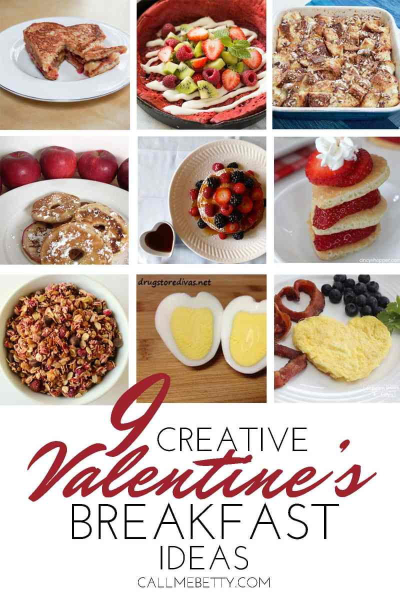 9 Creative Valentine's Day Breakfast Ideas