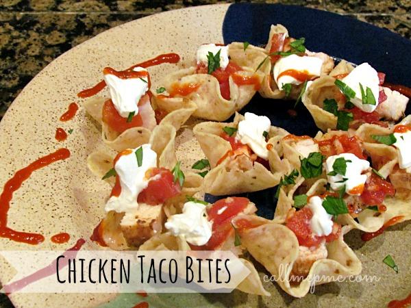 Chicken Taco Bites #callmepmc