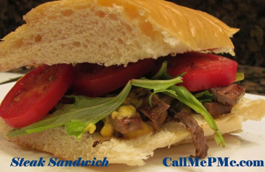 Steak Sandwich #callmepmc