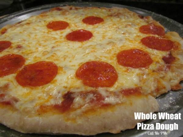Whole Wheat Pizza Dough / Call Me PMc - Call Me PMc