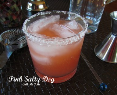 Call Me PMc Pink Salty Dog Cocktail