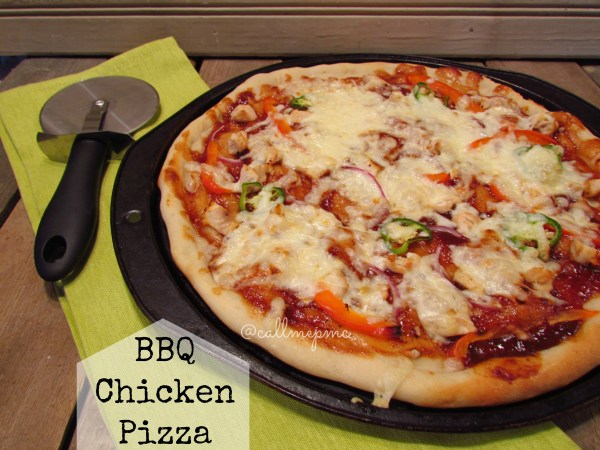 Best (quick & easy) BBQ chicken pizza #pizza #chicken #BBQ #callmepmc