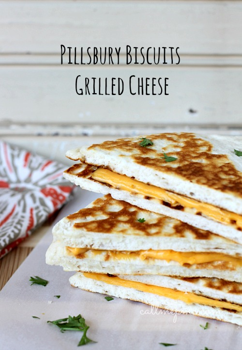 #PillsburyBiscuits Grilled Cheese
