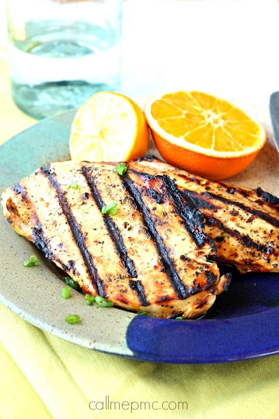 Citrus Marinated Grilled chicken