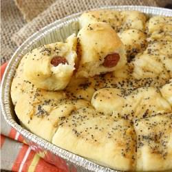 Sister Schubert's Poppy Seeds Sausage Rolls