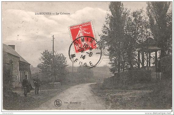 Calvaire de Damousies dans les années 1910 1914