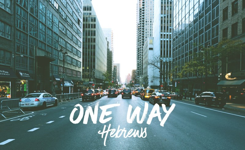 one way (hebrews)