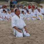 Camarillo Shotokan Beach Training Carpinteria State Beach 1 Aug 2010