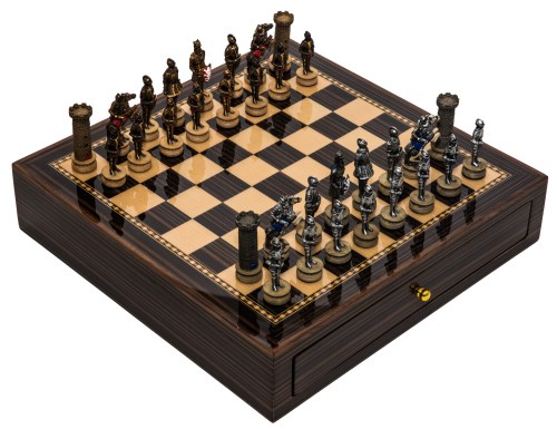 Medium Of Medieval Chess Set