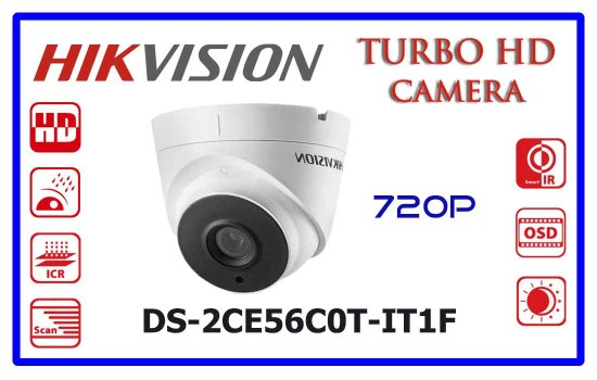 DS-2CE56C0T-IT1F - Hikvision Turbo HD Camera
