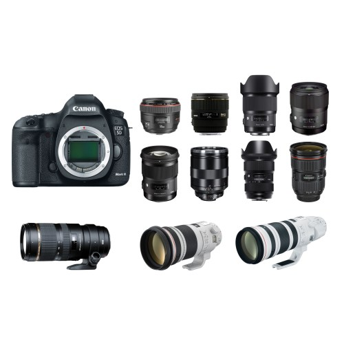 Medium Crop Of Canon Full Frame Lenses
