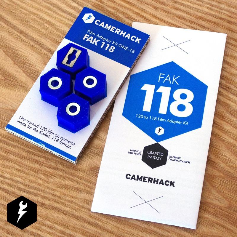 FAK 118 – 120 to 118 Film Adapter Kit