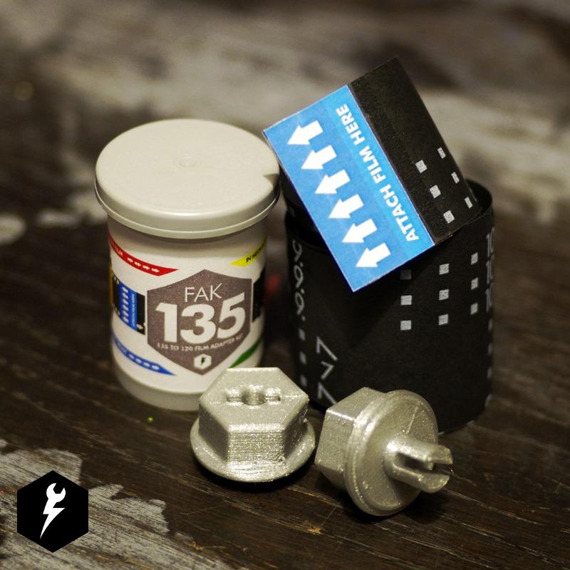FAK 135 – 135 to 120 Film Adapter Kit