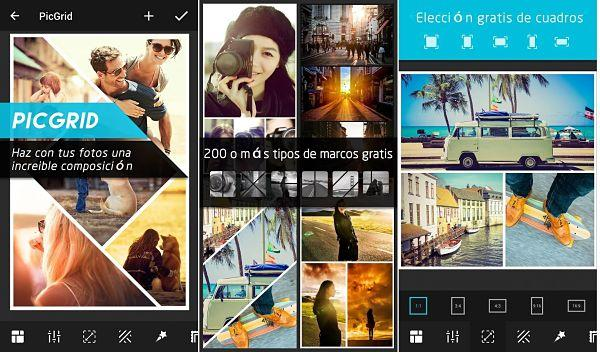 10 aplicaciones android para hacer collage de fotos gratis - Collage de fotos para pared ...