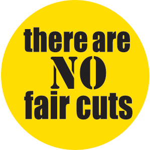 No fair cuts