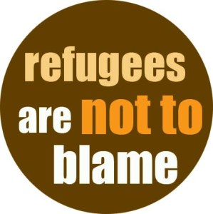 Refugees are not to blame
