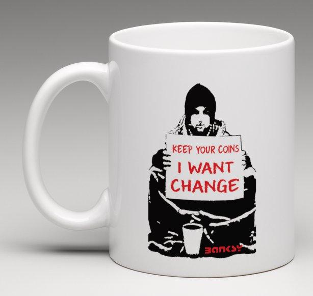 banksy change