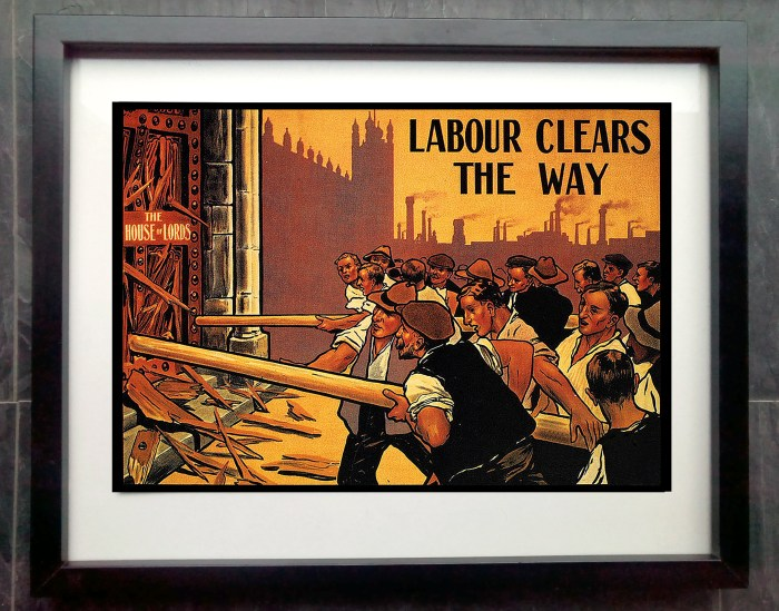 labour clears way