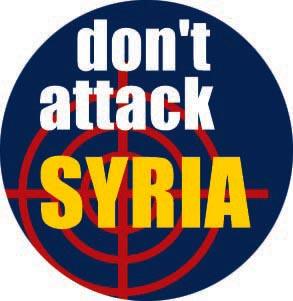 don't attack Syria