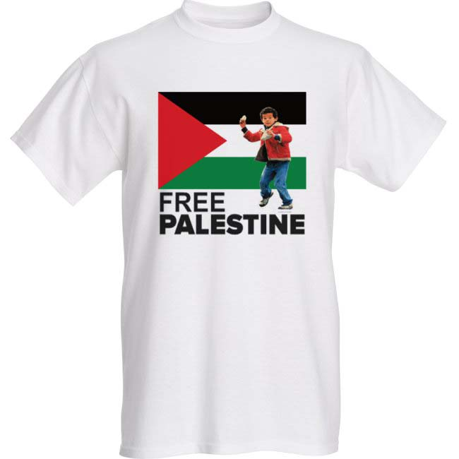 Palestine shirt proof