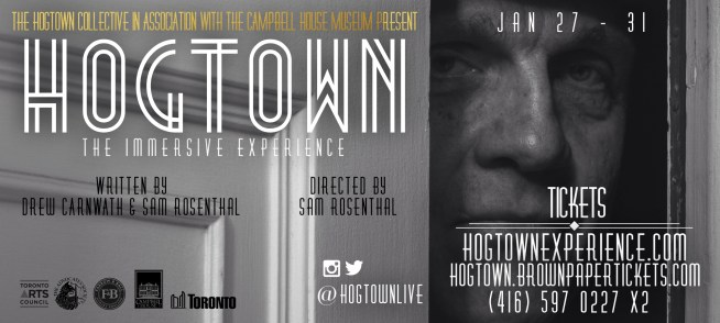 Hogtown the Immersive Experience poster