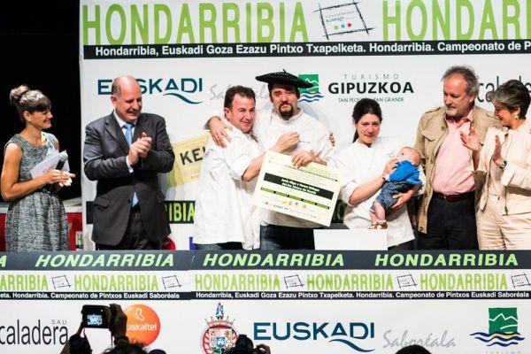 Jesús Íñigo y Nerea Sistiaga, del Ábaco de Huarte, campeones 2012