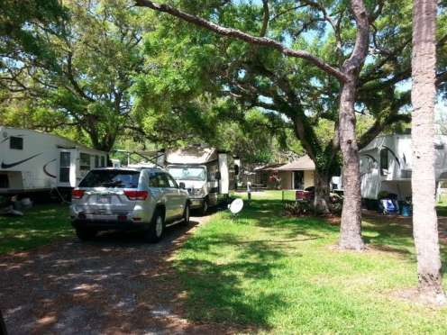 Vero Beach Kamp Rv Park In Sebastian Florida Fl