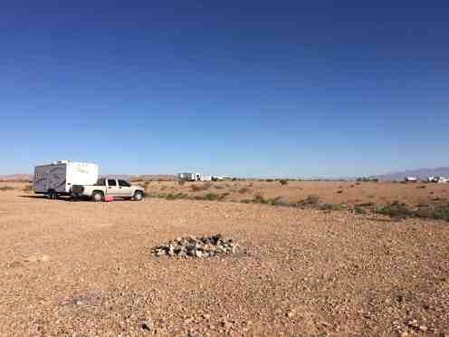 Snowbird Mesa Poverty Flat Camping Area Overton Nevada Nv