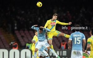 L'argentino Fernandez in un azione di gioco
