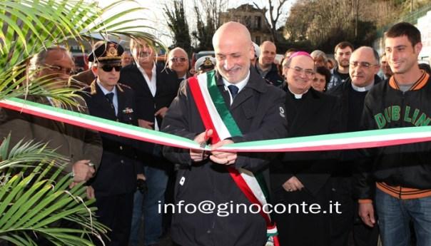 Inaugurato quest'oggi il nuovo mercato di via Fasano a Pozzuoli