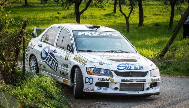 AUTOMOBILISMO| Fabio Gianfico trionfa al Rally Ronde del Matese