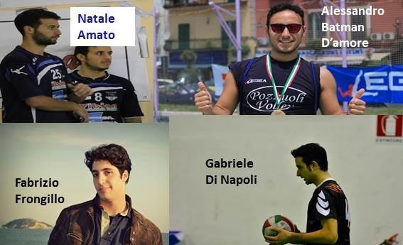 Pozzuoli Volley, poker d'acquisti per coach Cirillo. Arrivano Frongillo, Di Napoli e i fratelli Romano!
