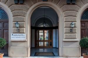 La sede della scuola superiore di polizia di Roma