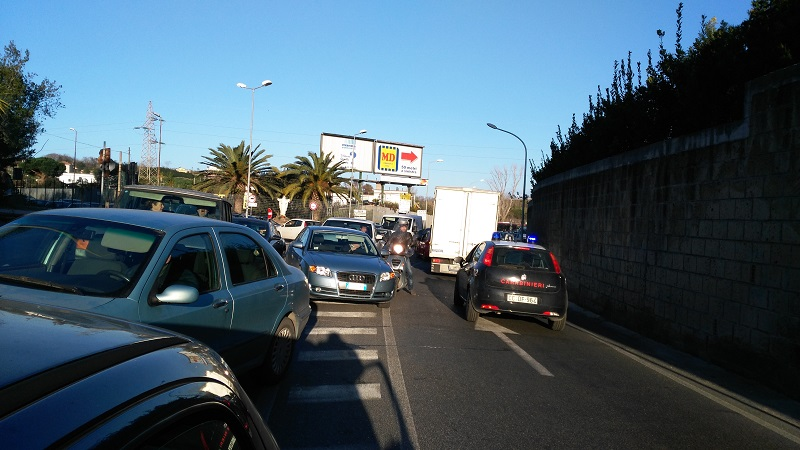 Incidente auto 5 - blocco