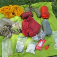 2016 Three Season Backpacking Gear List
