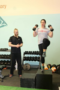 Personal training with Camp Victory owner, Ryan