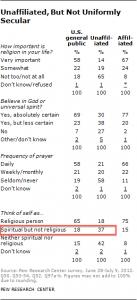 Spiritual but Not Religious