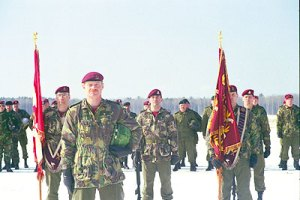 The Canadian Airborne Regiment disbanded as a result of the Somalian Affair.