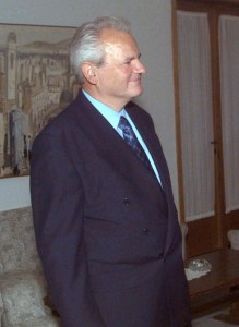 Slobodan Milosevic stood in the way of internal stability in Kosovo.