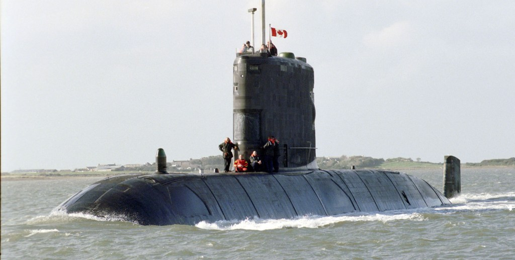 HMCS Windsor Heads for Halifax