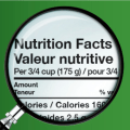 nutritional facts, canadianmomeh
