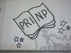 PRINP, artwork by JINS