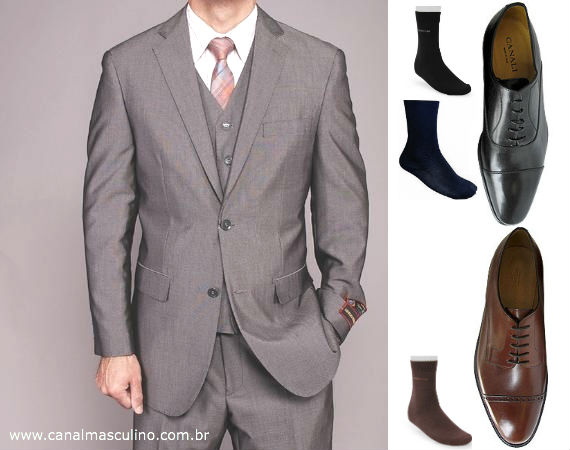 combinar_sapatos_terno_cinza
