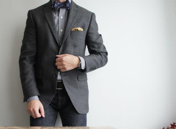 Tipos de Padrões de Tecido de Ternos e Blazers Masculinos