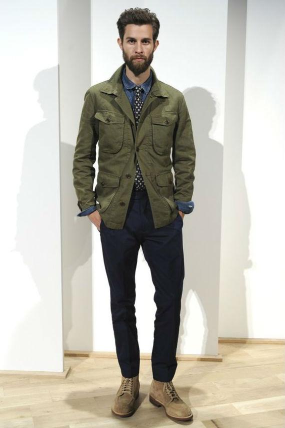 Safari Jacket Mens Fashion